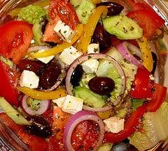 Greek salad feta