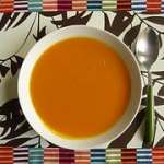 Pumpkin Soup with White Wine and Rosemary