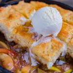 Easy Apple Cobbler Buttermilk Biscuit is the perfect low-risk dessert that has the maximum pay off.