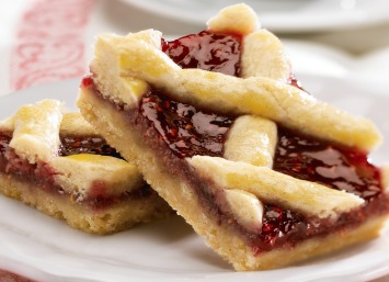 Bar Cookie Recipes  Raspberry Bars or Linzer Cookies