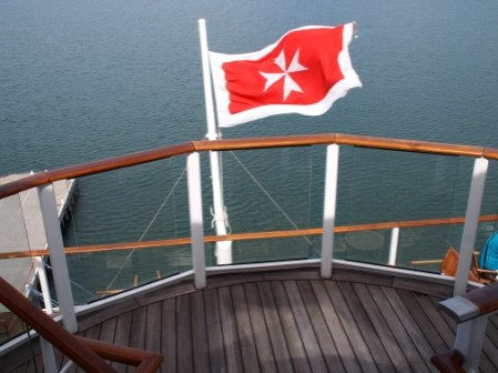 Ship's Maltese Flag