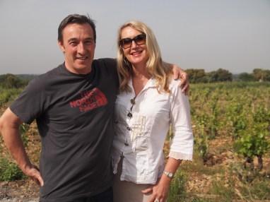 Châteauneuf-du-Pape vingneron with Karen