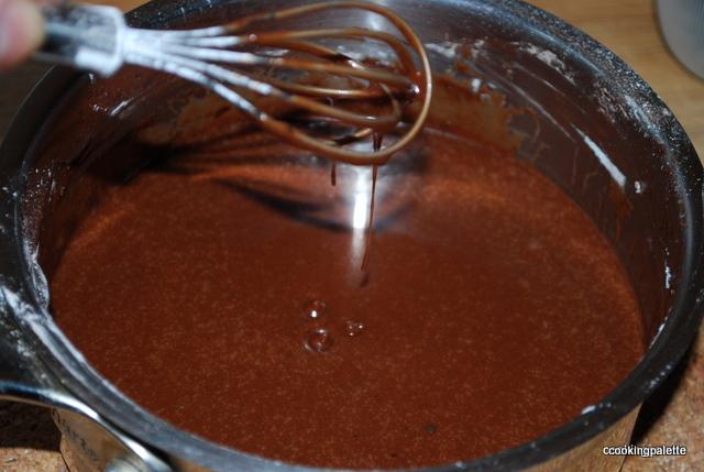 Глазурь шоколадная из какао