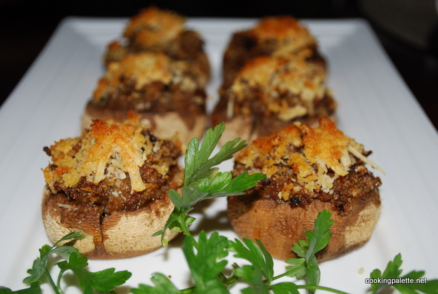 stuffed mushrooms  (20)