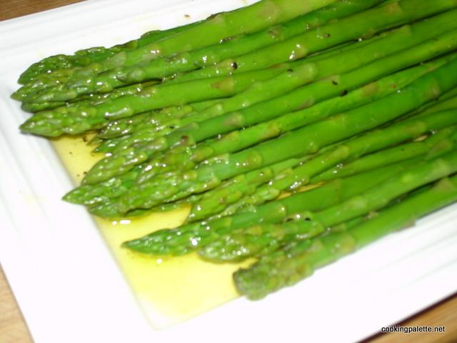 asparugus in lemon venaigrette (8)