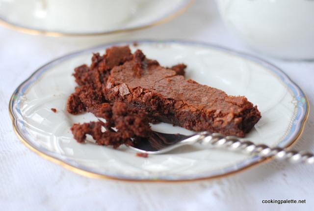 flourless chocolate cake (21)