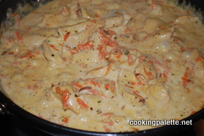 pasta with chicken breast and cream sauce (3)