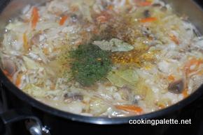 schi with souerkraut and mushrooms (6)