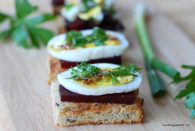 beet egg canape (3)