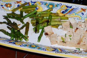 green salad with steak tofu asparag and avocado (6)