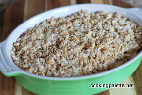 rhubarb strawberry granola crisp (9)
