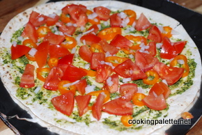 flat bread with topping grilled (5)