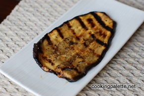 eggplant grilledd with red skhug (2)