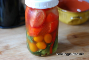 quick salted tomatoes and pickles  (3)
