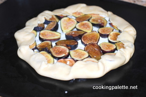 fig and goat cheese galette (7)