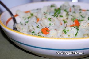 warm caulifliwer salad (8)