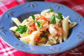 pasta with shrimp  (16)