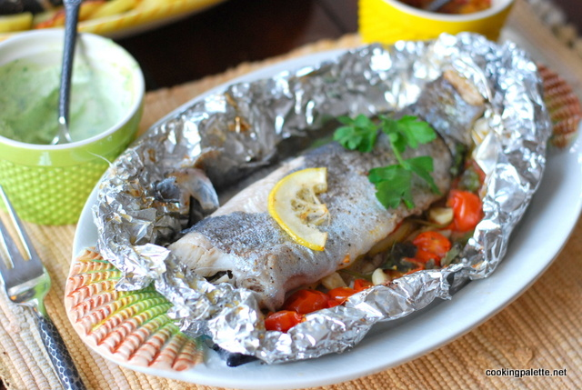 trout in foil with cherry tomatoes (15)