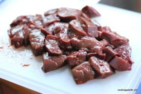 beef liver whole grain mustard sour cream sauce  (2)