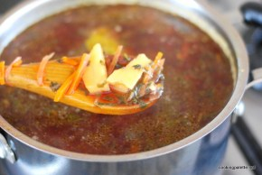 sorrel or spinach beet soup (7)