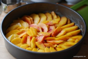 upside down peach cake  (6)