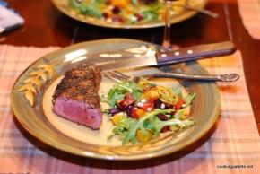 roasted pumpkin beet salad (19)