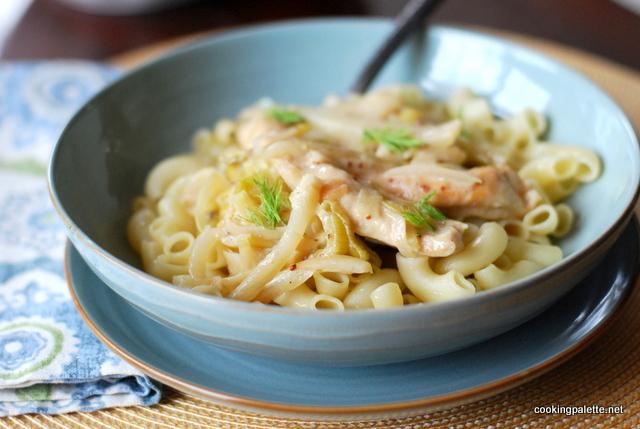 chicken fennel leek pasta (17)