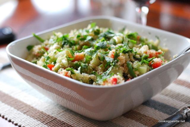 cous cous cilantro salad (10)