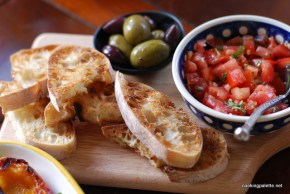 bruschetta with tomato and capers  (11)