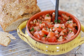 bruschetta with tomato and capers  (2)