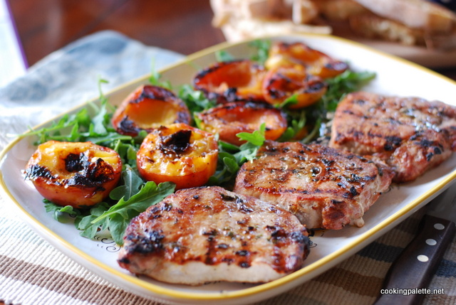 pork chops with peaches (10)