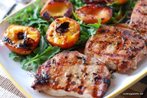pork chops with peaches (8)