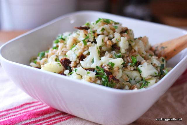 cauliflower farro salad (16)