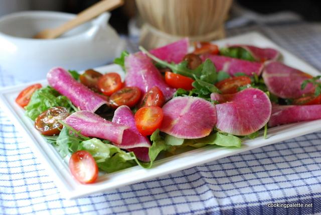 watermelon radish salad (8)