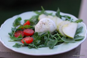 burrata and pear salad (6)