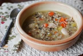 grainy turkey chicken soup (13)