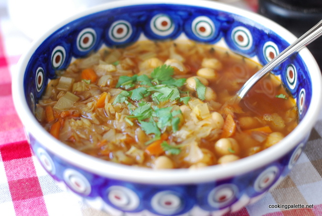 cabbage chick pea soup (7)