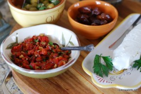 roasted pepper and garlic relish (10)