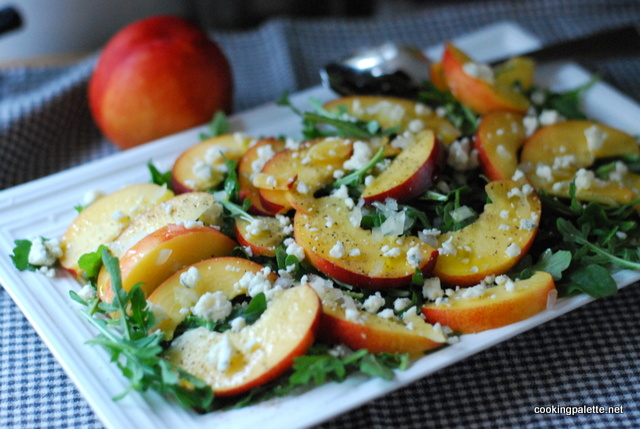nectarine soft cheese salad (4)