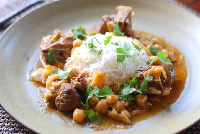 goat curry with cabbage and chickpeas (13)