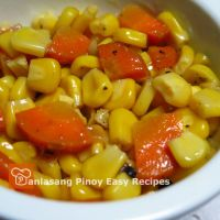 Easy Buttered Corn & Carrots Recipe