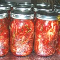 Home-made Pechay Baguio Kimchi Recipe in a Jar