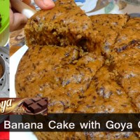No Bake Banana Cake with Goya Chocolate