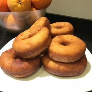 Donuts fritos