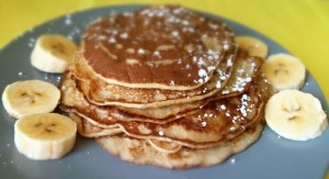 Pancakes de plátano