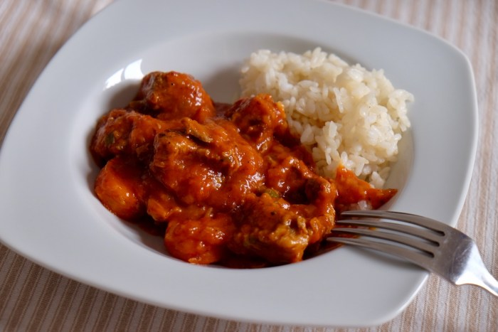Ternera en salsa de tomate