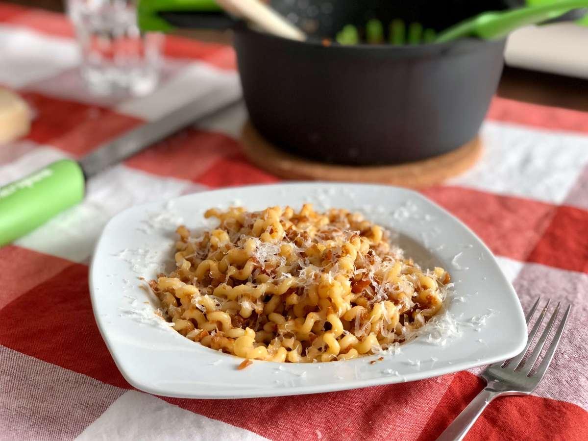Receta para preparar pasta con verduras