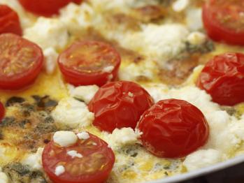 Herb & Goat Cheese Frittata