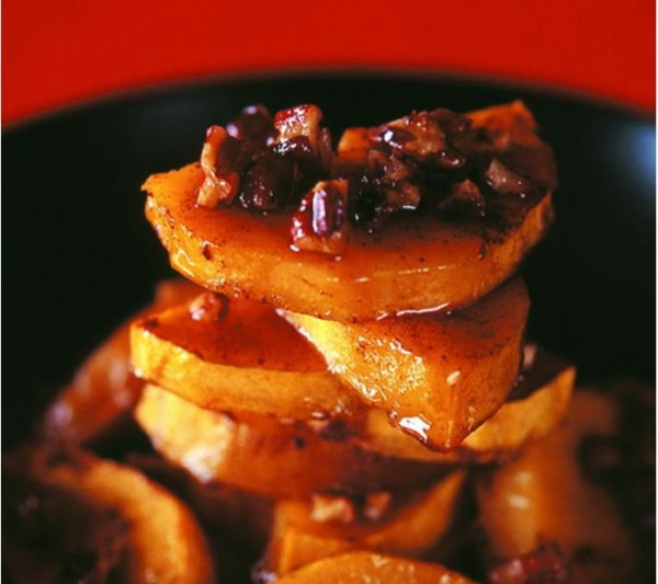 Baked Butternut With Honey & Nuts