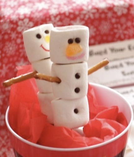 Snowmen Lollies